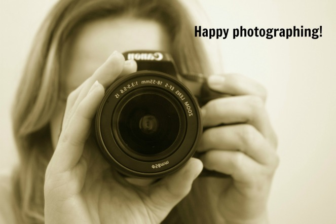 happy photographing